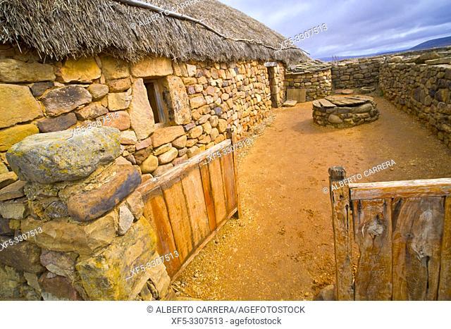 Numancia Archaeological Site, Numancia Ancient Celtiberian Settlement, Cerro de la Muela, Garray, Soria, Castilla y León, Spain, Europe