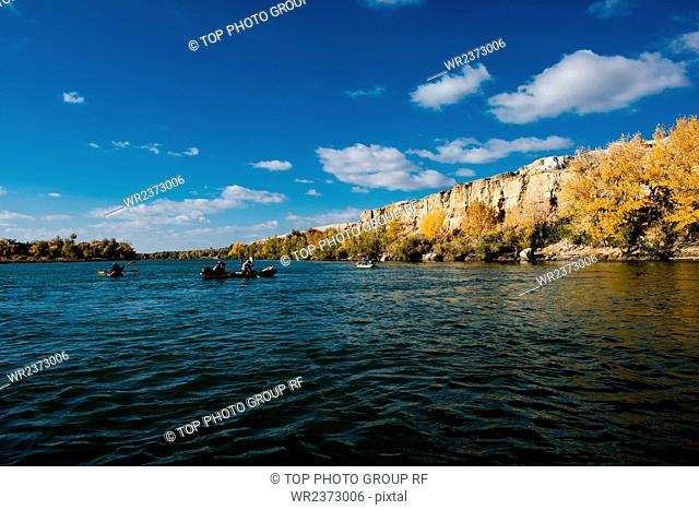 Eerqisi River Altai Region Xinjiang Autonomous Region China