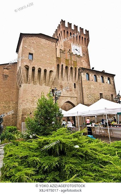 Medieval Tower, Spilamberto Modena, Italy