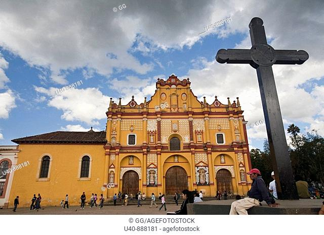 Mexico, San Cristobal las Casas, Cathedral