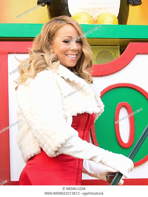 2015 Macys Thanksgiving Day Parade Featuring: Mariah Carey Where: New York, New York, United States When: 26 Nov 2015 Credit: WENN.com