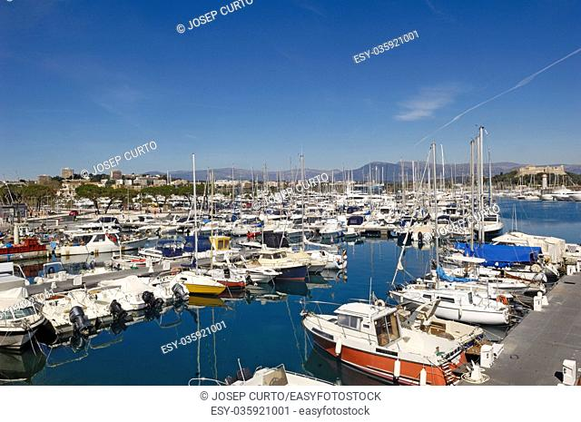 Port of Antibes, Frech Riviera