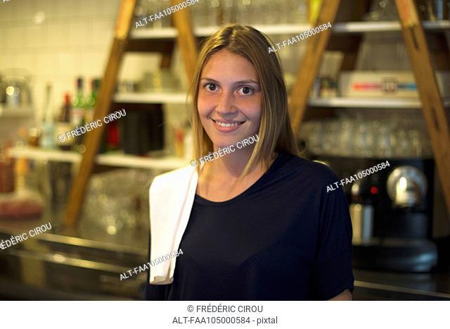 Waitress, portrait
