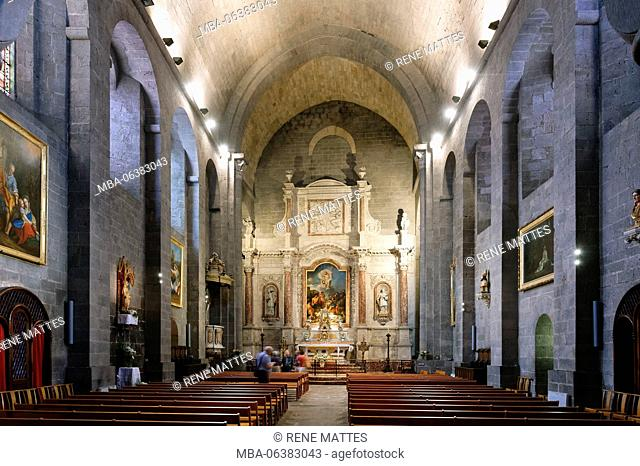 France, Herault, Agde, St Etienne cathedral