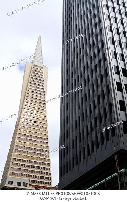 Trans America Building,Architecture, buildings, downtown, San Francisco, California, USA