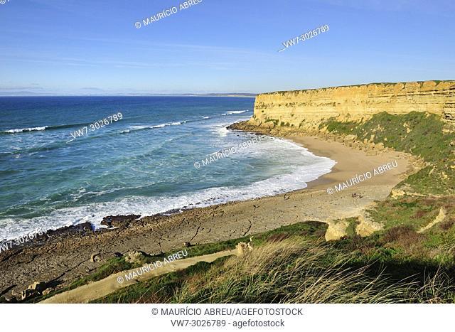 Foz beach. Sesimbra, Portugal