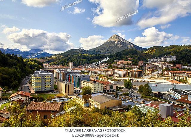 Udalaitz mountain, Arrasate, Mondragon, Gipuzkoa, Basque Country, Spain, Europe