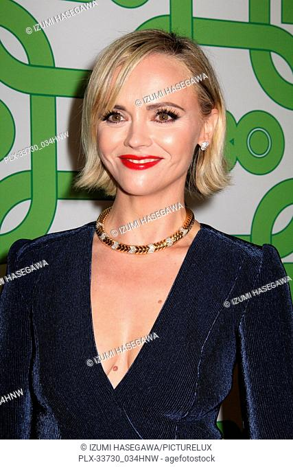 Christina Ricci 01/06/2019 The 76th Annual Golden Globe Awards HBO After Party held at the Circa 55 Restaurant at The Beverly Hilton in Beverly Hills