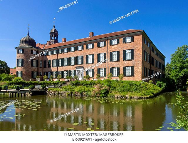 Eutin Castle moated castle, Eutin, Schleswig-Holstein, Germany