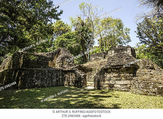 Mundo Perdido (Lost World) complex, Tikal, Guatemala, Central America