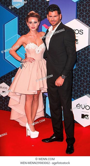 The 2016 MTV Europe Music Awards (EMAs) held at the Ahoy Rotterdam, Netherlands - Red Carpet Arrivals Featuring: Ania Aleksandrzak, Wojtek Gola Where: Rotterdam