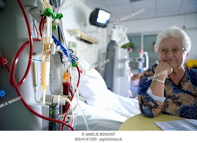 HEMODIALYSIS, ELDERLY PERSON