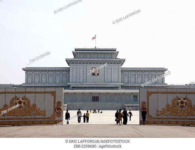 Kumsusan Memorial Palace In Pyongyang, North Korea