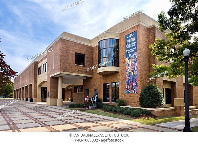 Birmingham Civil Rights Institute, 16th Street North, Civil Rights District, Birmingham, Alabama, USA