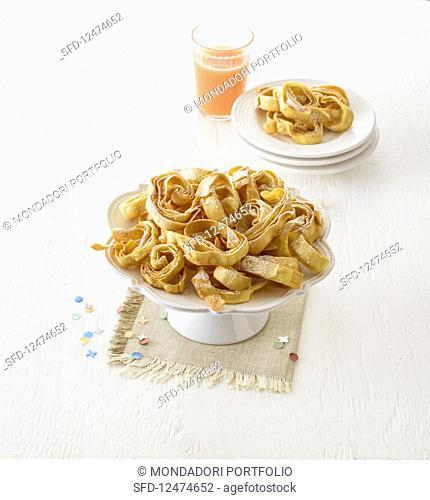 Tagliatelle dolci (sweet tagliatelle, Italy)