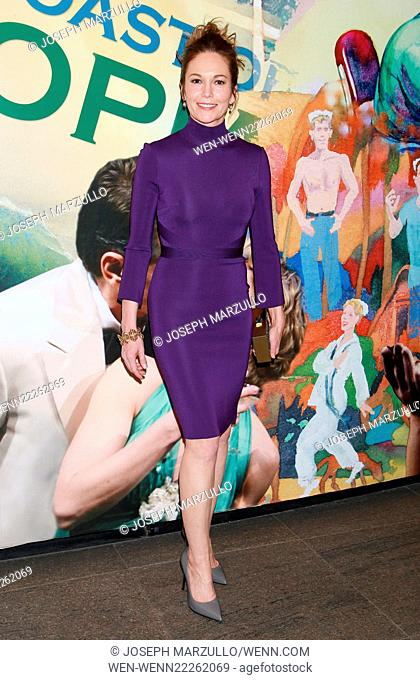 The opening night of The Mystery of Love and Sex at the Newhouse Theatre - Departures. Featuring: Diane Lane Where: New York City, New York