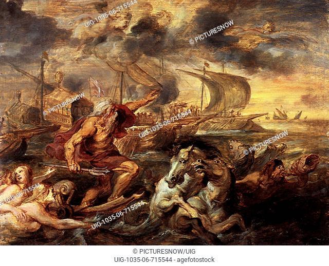 Quos Ego: Neptune Calming the Tempest