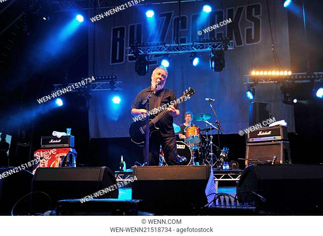 Godiva Festival - Day 1 - Performances - The Buzzcocks Featuring: Pete Shelley Where: Coventry, United Kingdom When: 04 Jul 2014 Credit: WENN.com