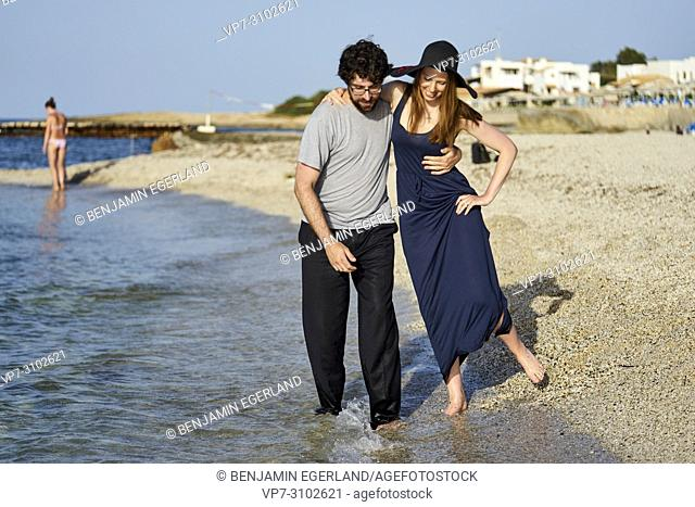 Greece, Crete, Hersonissos, couple