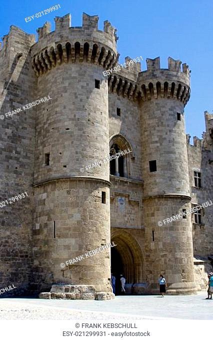 Großmeister Palast in Rhodos Stadt