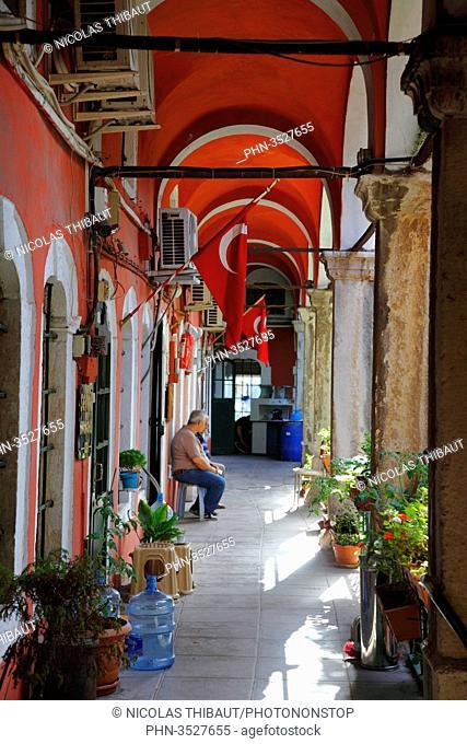 Turkey, Istanbul (municipality of Fatih), district of Beyazit, Zincirli Han, old caravanserai in the Grand Bazaar