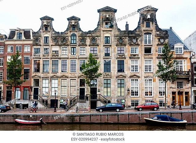 Amsterdam house facade