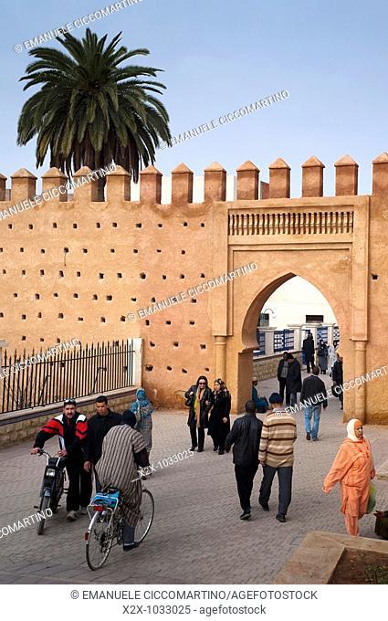 Gate of Bab el Kasba, Oujda, Oriental region, Morocco