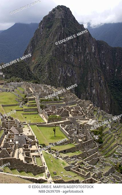 The mystic lost city of Machu Picchu, Peru