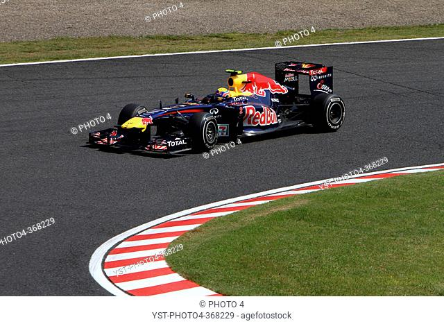 Saturday Practice, Mark Webber AUS, Red Bull Racing, RB7, F1, Japanese Grand Prix, Suzuka, Japan