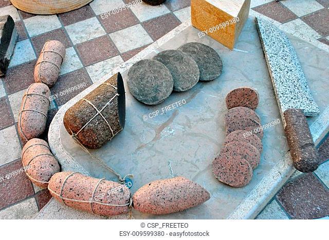 salami and cheese