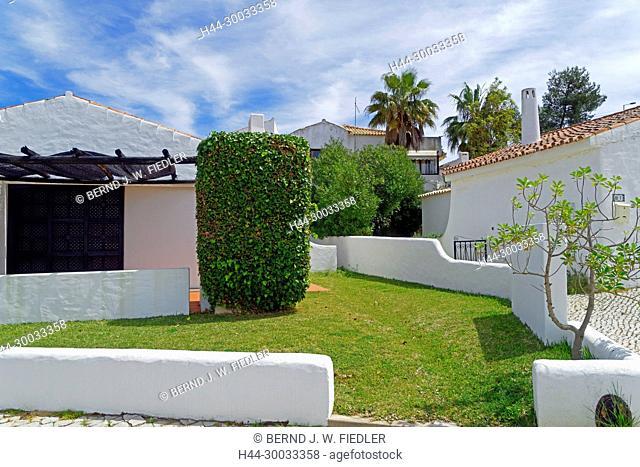 Garten, Häuser, Bugalows, typisch