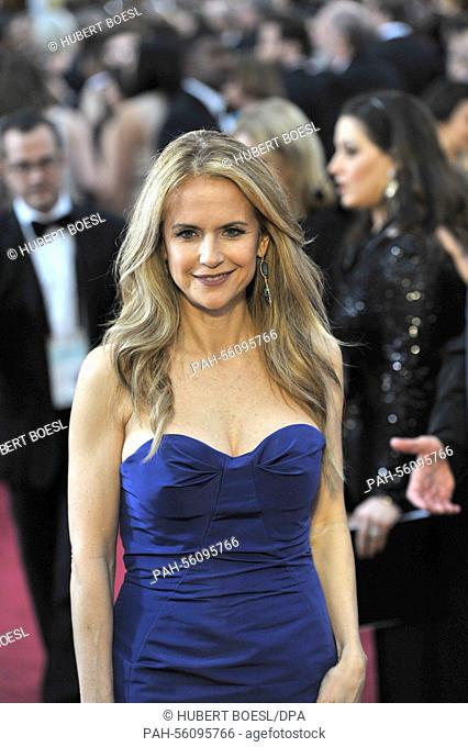 Actress Kelly Preston attends the 87th Academy Awards, Oscars, at Dolby Theatre in Los Angeles, USA, on 22 February 2015