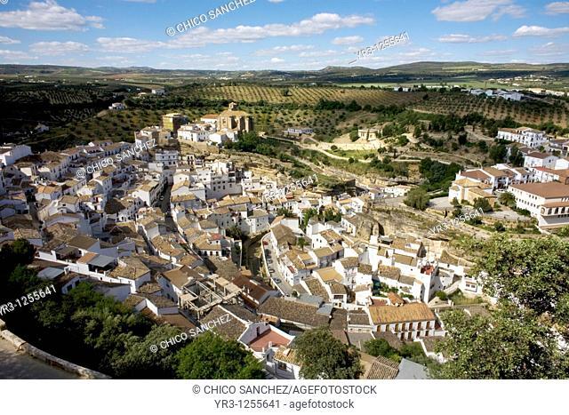 Setenil de las Bodegas village, Cadiz province, Andalusia, Spain
