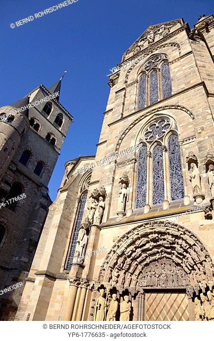 Church of Our Lady and Cathedral of Trier, World Heritage Site, Trier, Rhineland-Palatinate, Germany