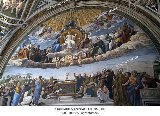 Italy, Rome, Vatican City, Vatican Museum, Raphael's Rooms