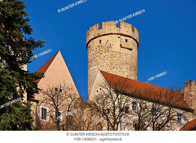 Gnandstein castle, built in the 13th century, Kohren-Sahlis, administrative district Leipzig, Saxony, Germany, Europe