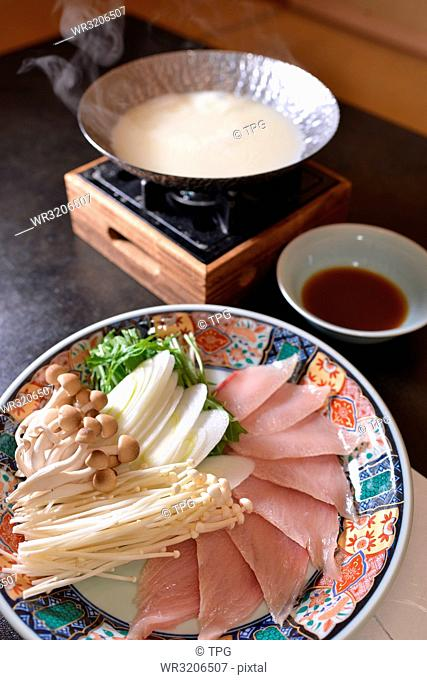 Japanese hot pot of Sushiyanojoukou