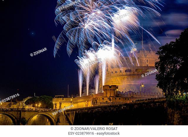 Girandola in Rome