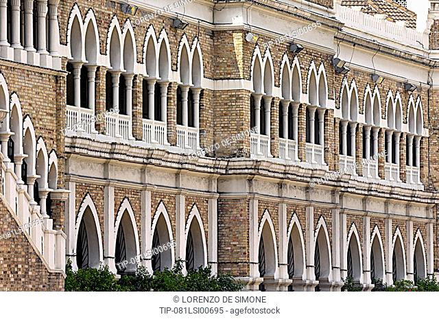 Asia, Malaysia, Kuala Lumpur, Merdeka square the Sultan Abdul Samad Building built in 1897