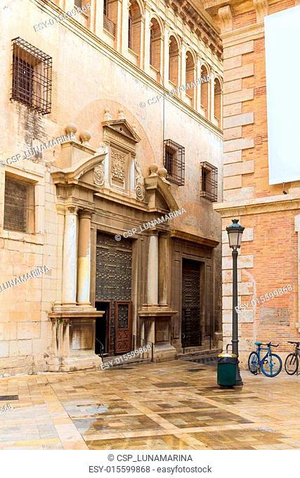 Valencia Patriarca museum in Calle Nave street Spain