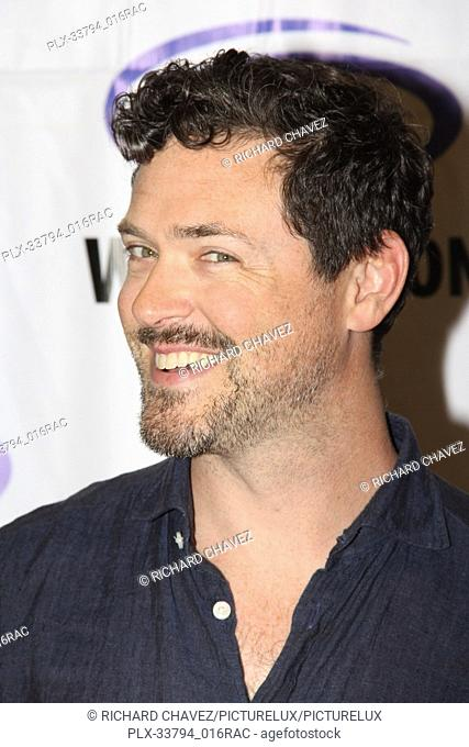 """Brendan Hines promotes """"""""The Tick"""""""" at WonderCon 2019 on Day 2 held at The Anaheim Convention Center in Anaheim, CA on March 30, 2019"""