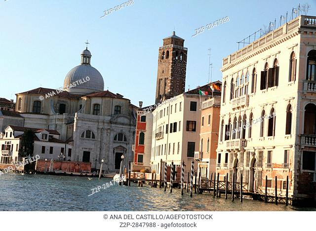 Palaces in the Grand Canal, Venice