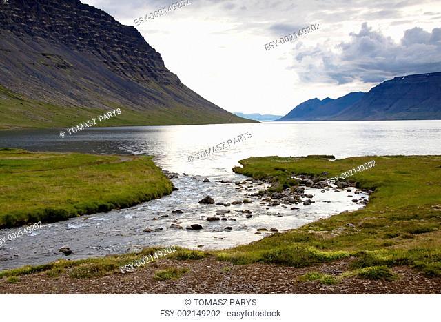 Dynjandisvogur fjord - Iceland