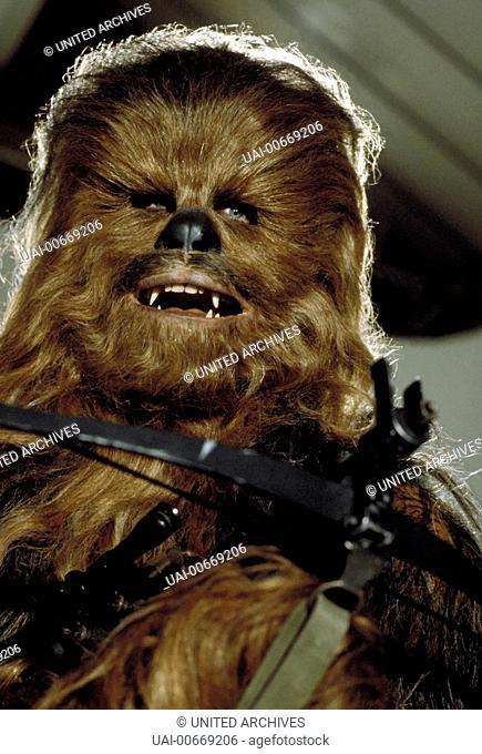 STAR WARS: EPISODE VI - RETURN OF THE JEDI USA 1983 Richard Marquand Bild: Chewbacca Regie: Richard Marquand / STAR WARS: EPISODE VI - RETURN OF THE JEDI USA...