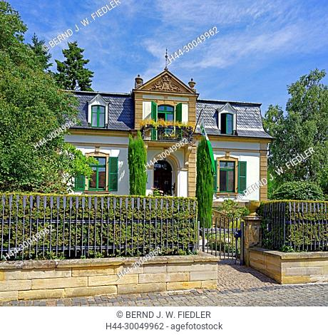Mansion, historically, forest in Weinstrasse Germany
