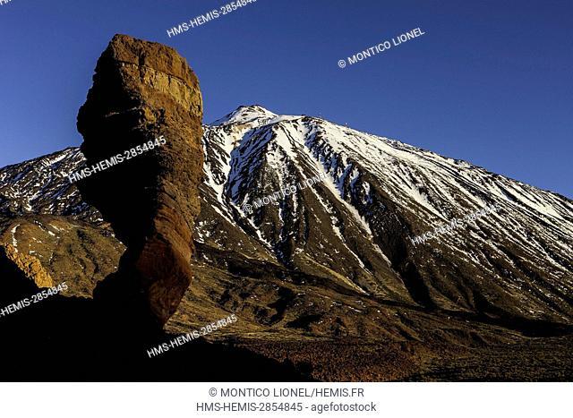 Spain, Canary Islands, Tenerife island, Parque Nacional del Teide (Teide National Park) listed as World Heritage by UNESCO
