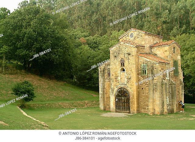 San Miguel de Lillo. Asturias. Spain