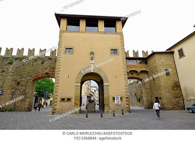 Porta San Lorentino, Arezzo, Tuscany, Italy, Europe