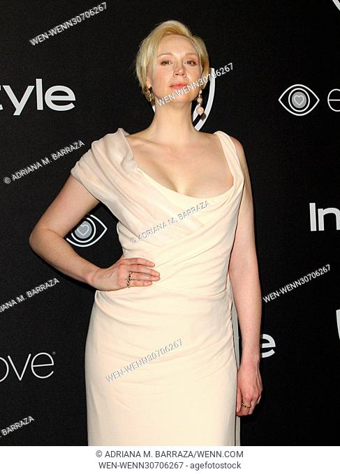 InStyle & Warner Bros. Pictures Golden Globe After Party 2017 held at the Beverly Hilton Hotel - Arrivals Featuring: Gwendoline Christie Where: Los Angeles