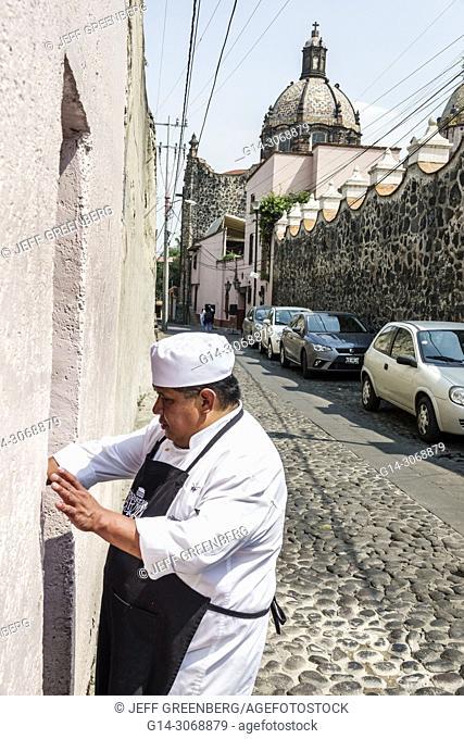 Mexico, Mexico City, Ciudad de, Federal District, Distrito, DF, D.F., CDMX, Hispanic, Mexican, Alvaro Obregon San Angel, Monasterio Street